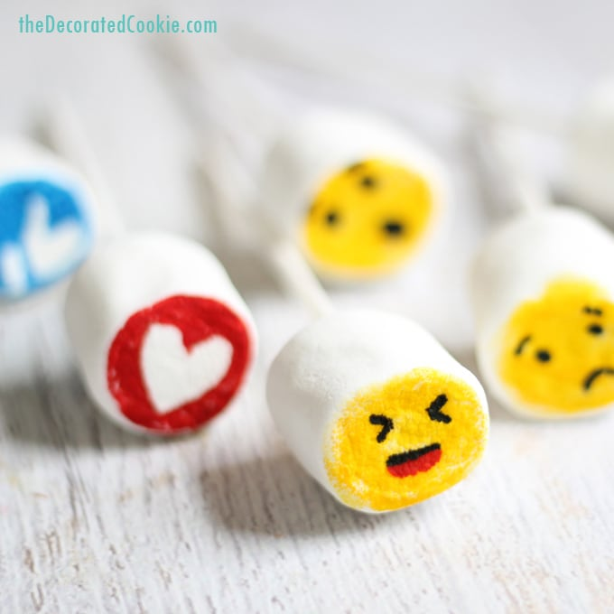 facebook like button marshmallows