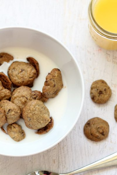 homemade cookie crisp cereal