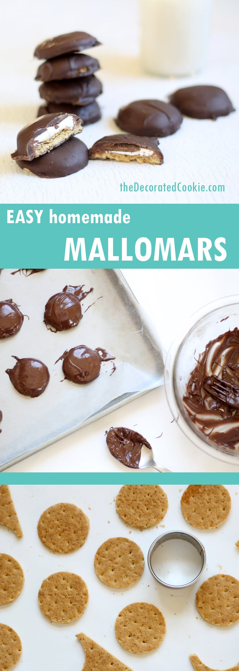 3-ingredient homemade Mallomars