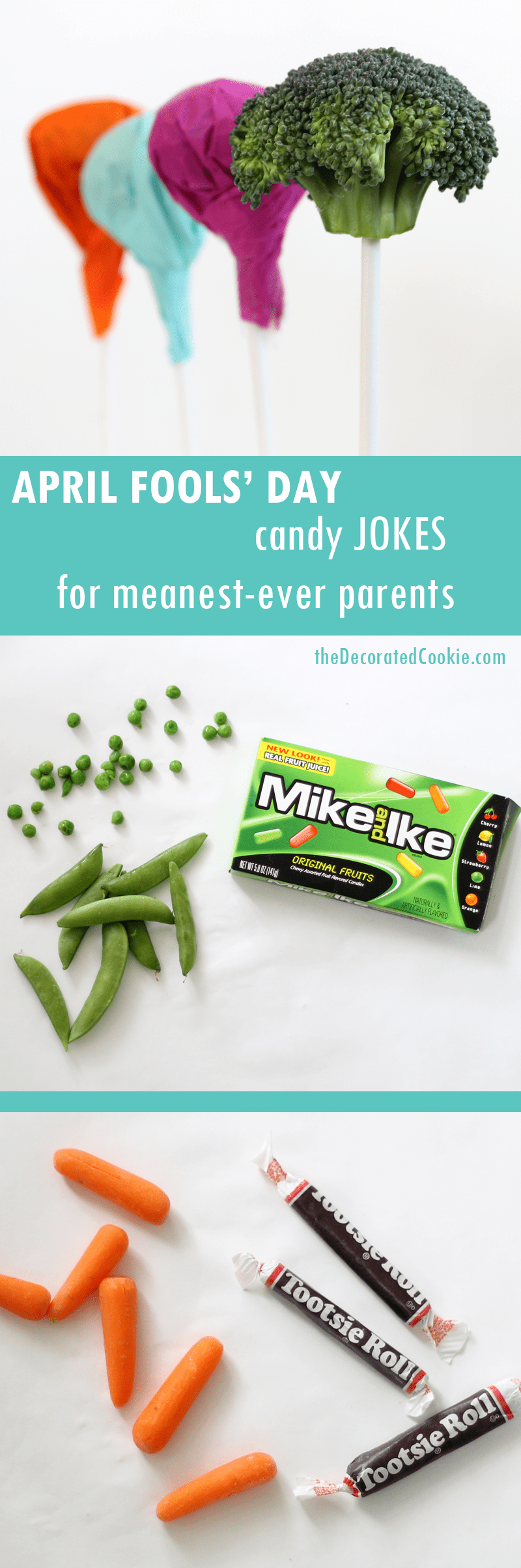 How to make april fools day chocolate bunny filled with veggies - April Fools Day Candy Jokes With Hidden Vegetables For Kids