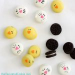 bunny and chick Oreo bites