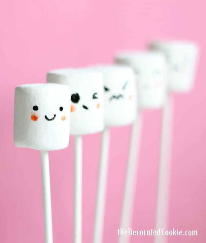 kawaii marshmallows