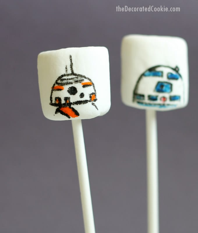 Star Wars marshmallow droids C3P0