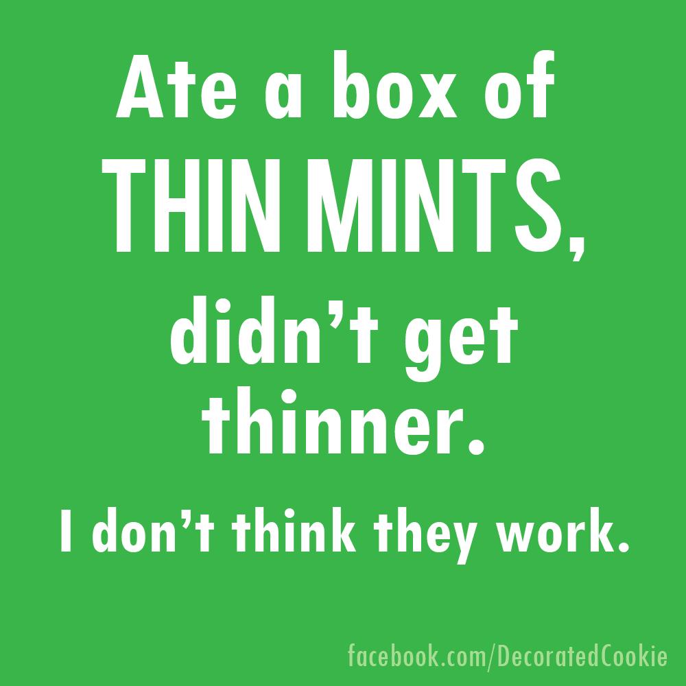 Thin Mints meme