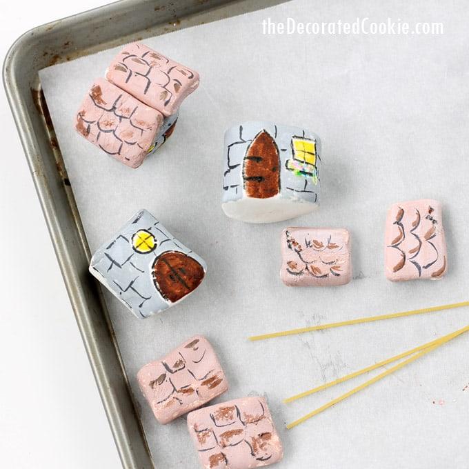 marshmallow fairy garden