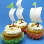 Mayflower cupcakes