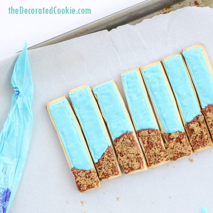 pull-apart beach cookies for summer