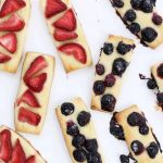 the BEST berry shortbread cookies