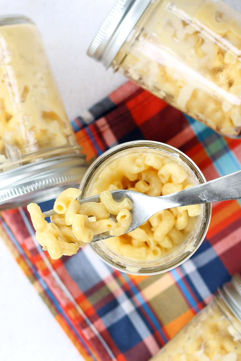 3 ingredient microwave mac and cheese