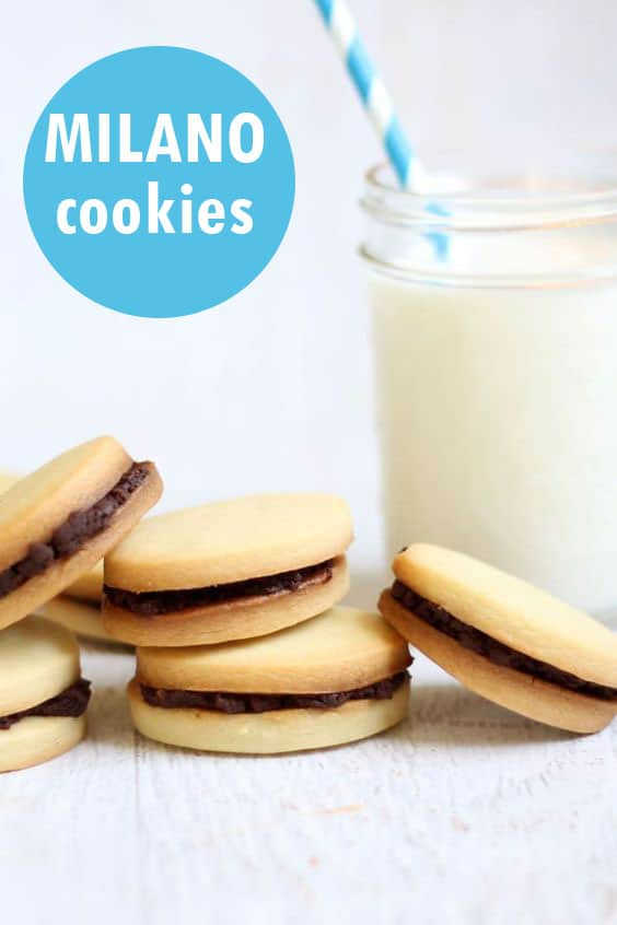 Homemade milano cookies recipe. #MilanoCookies