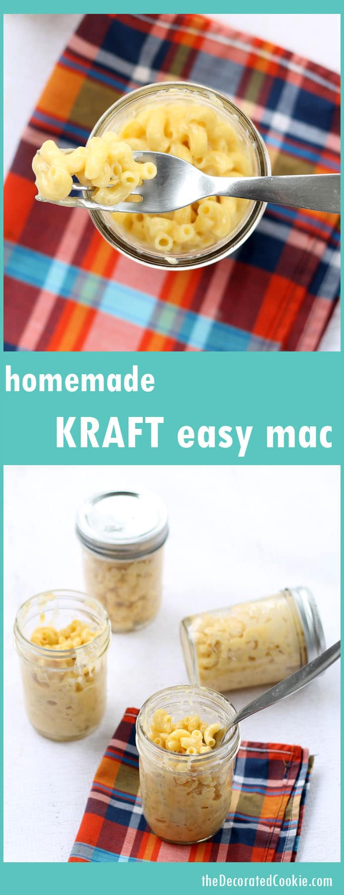 homemade Kraft Easy Mac - quick mac and cheese