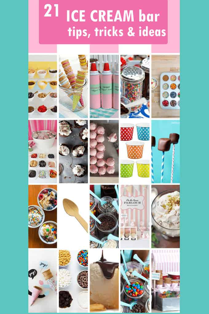 Ice Cream Sundae Bar Ideas Topping Ideas And Recipes Summer Party