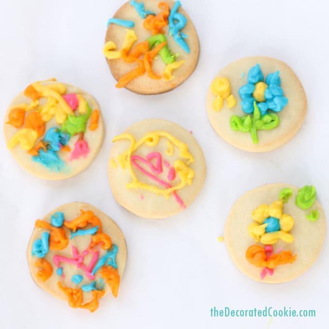 easy striped rainbow cookies