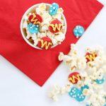 Wonder Woman popcorn