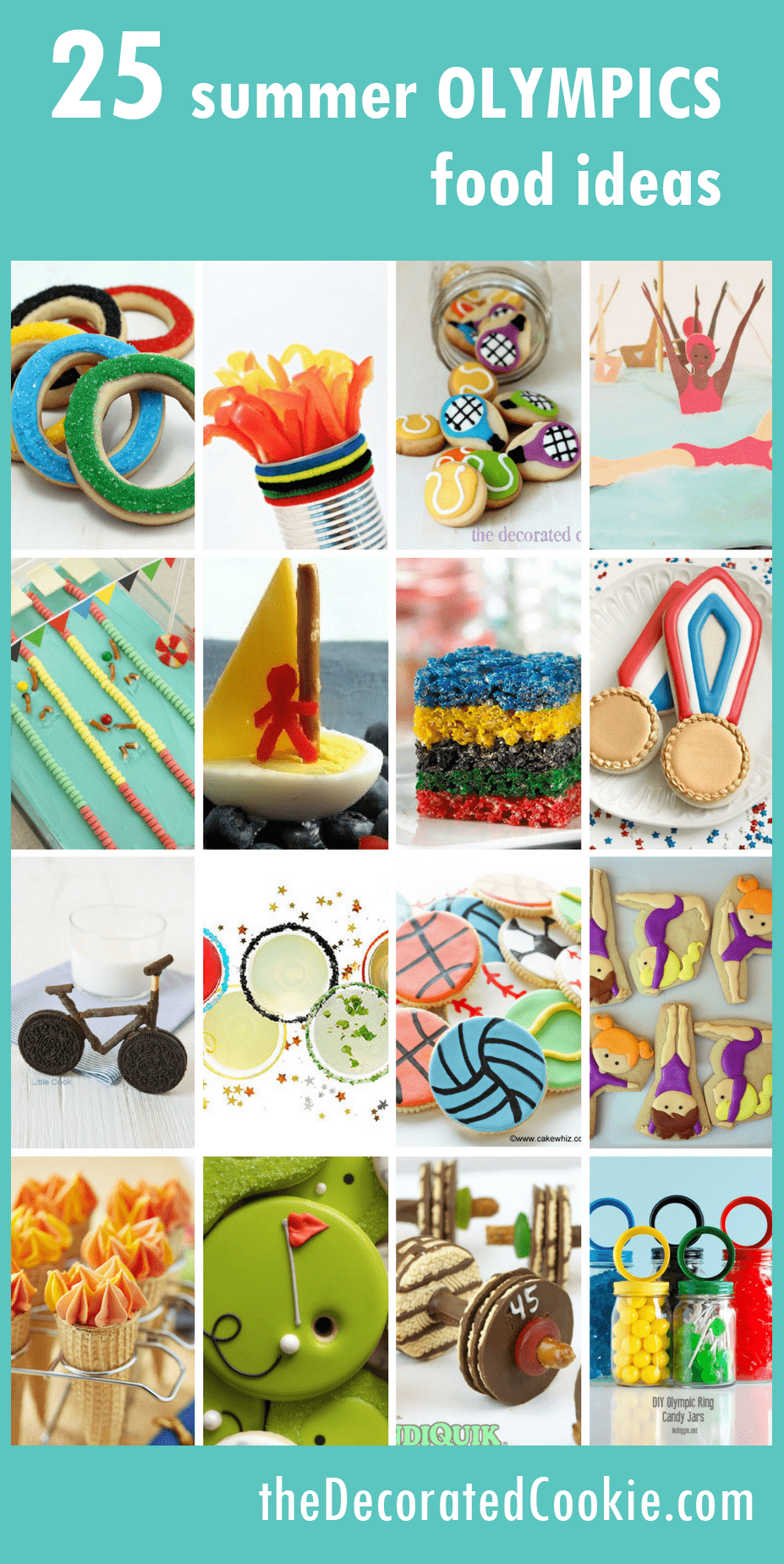 A Roundup Of Fun Food Ideas For The Summer Olympics border=