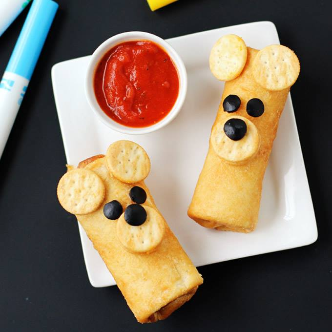 Farm Rich Pepperoni Pizza Roll Ups Bears