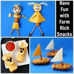 food crafts with Farm Rich Snacks