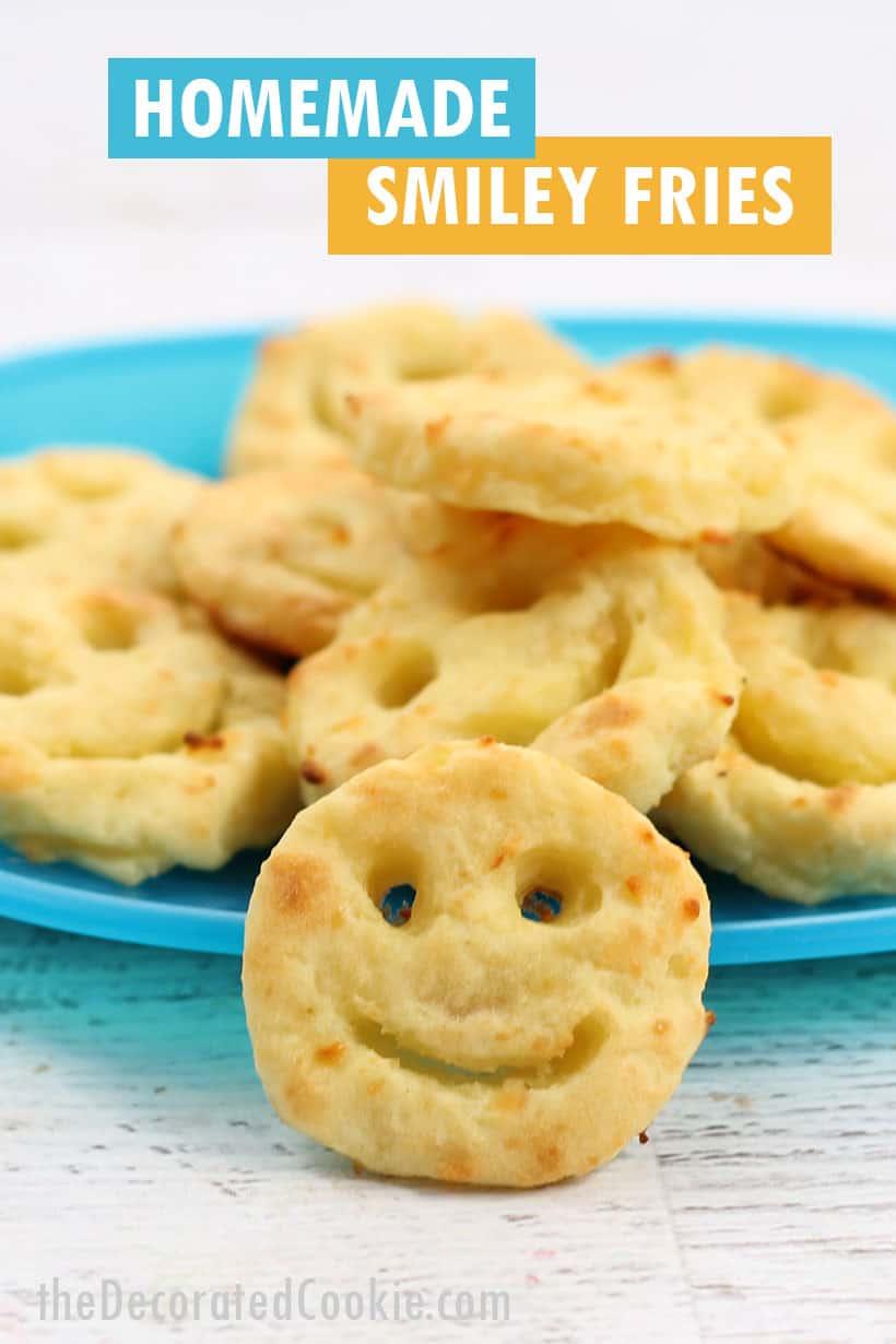 homemade smiley fries