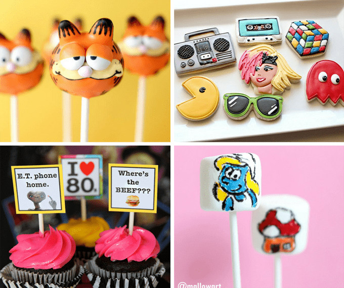 25 80s-themed party food ideas