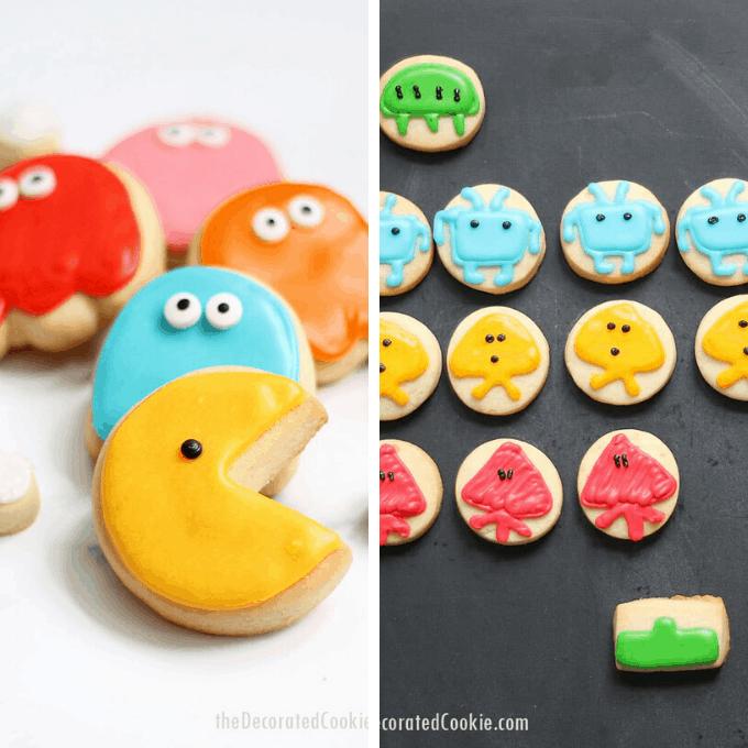 video game cookies