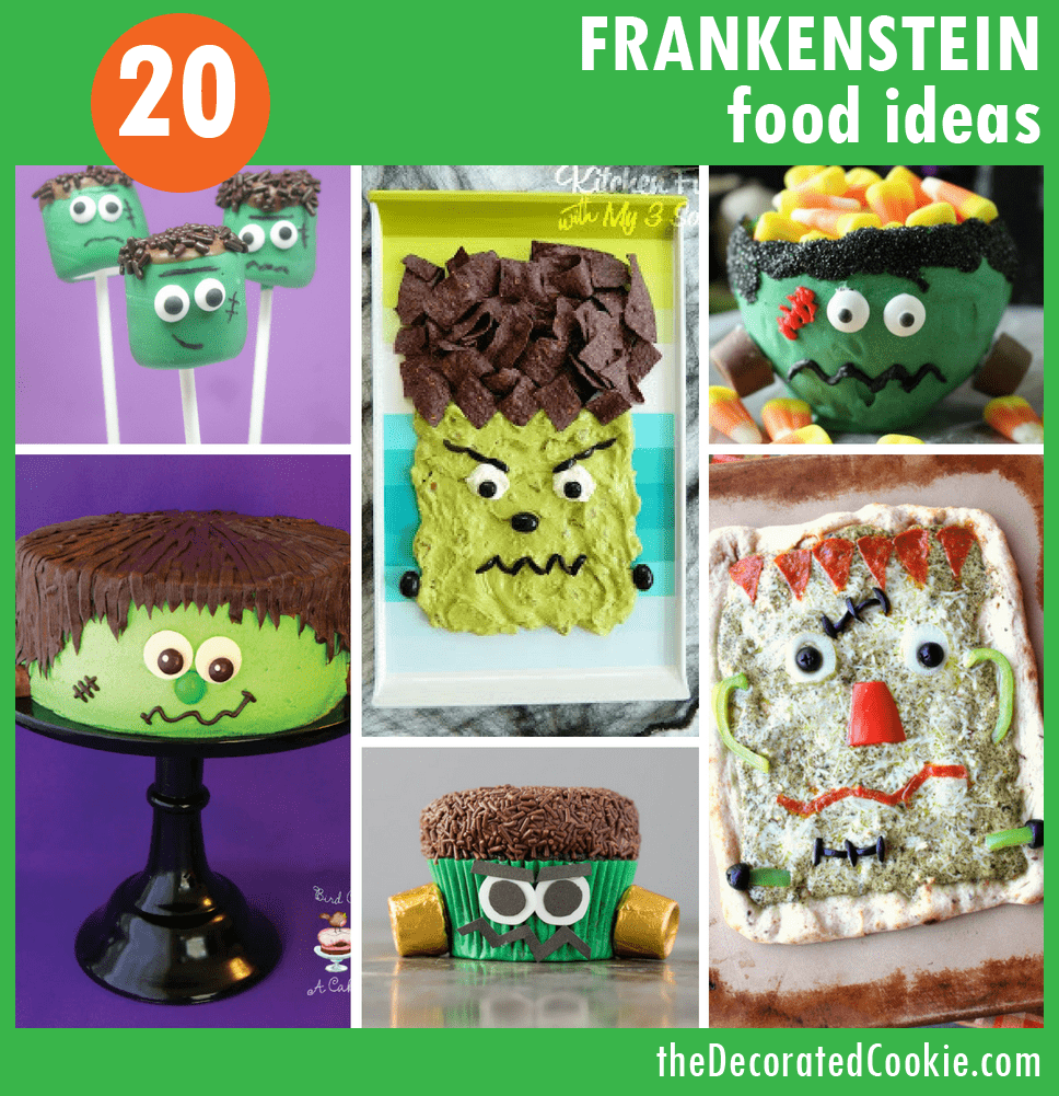 Frankenstein food ideas - Halloween party