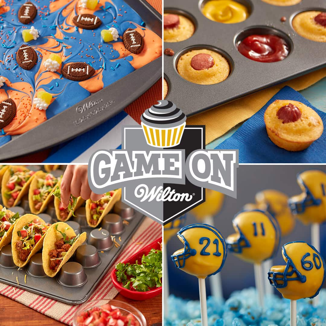 Wilton's GAME TIME fun food roundup