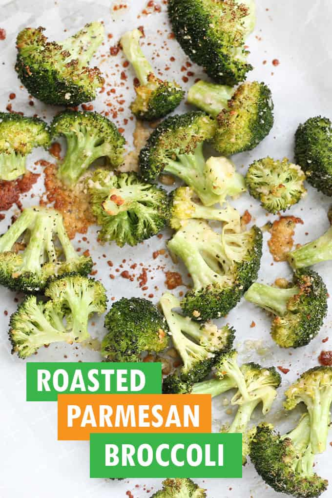 ROASTED parmesan broccoli
