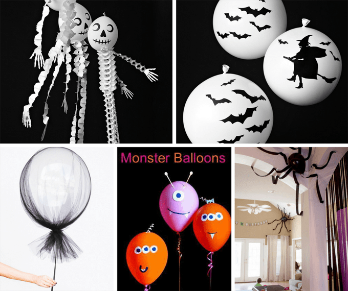 20 Halloween balloon ideas roundup