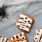 mummy pretzels treats
