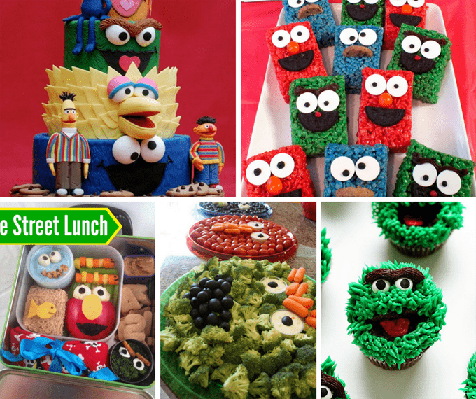 25 Sesame Street food ideas - sesame street party