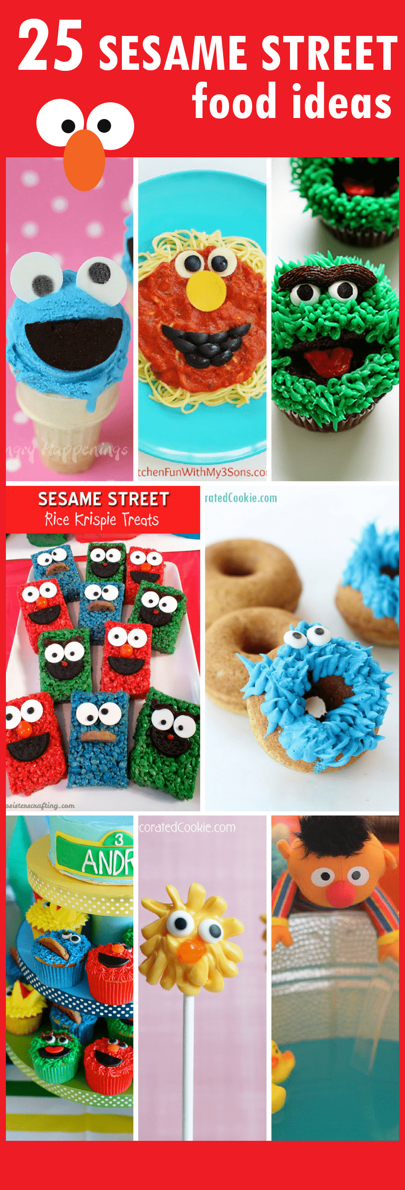 25 Sesame Street food ideas for your Sesame Street party