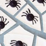 EASY creepy spider chocolate bark for Halloween