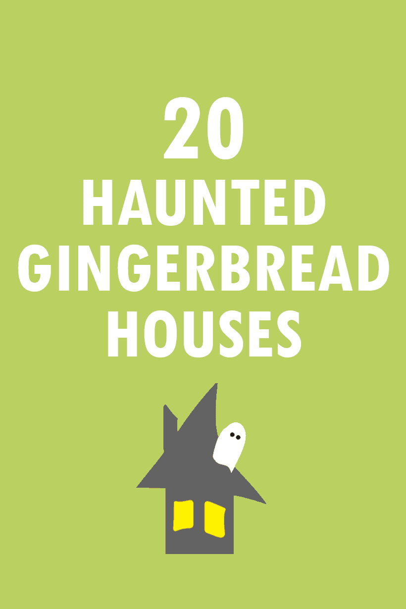 20 awesome Halloween gingerbread houses