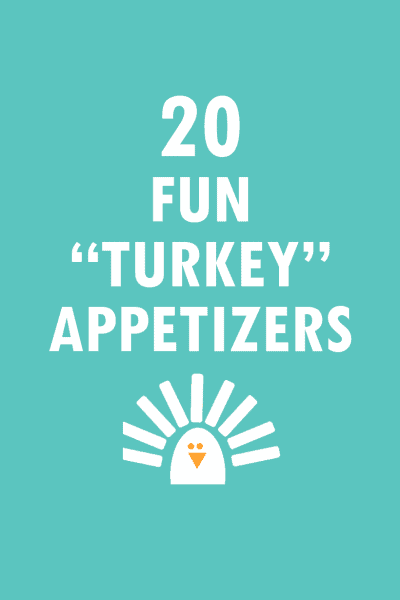 20 Turkey-themed Thanksgiving appetizers