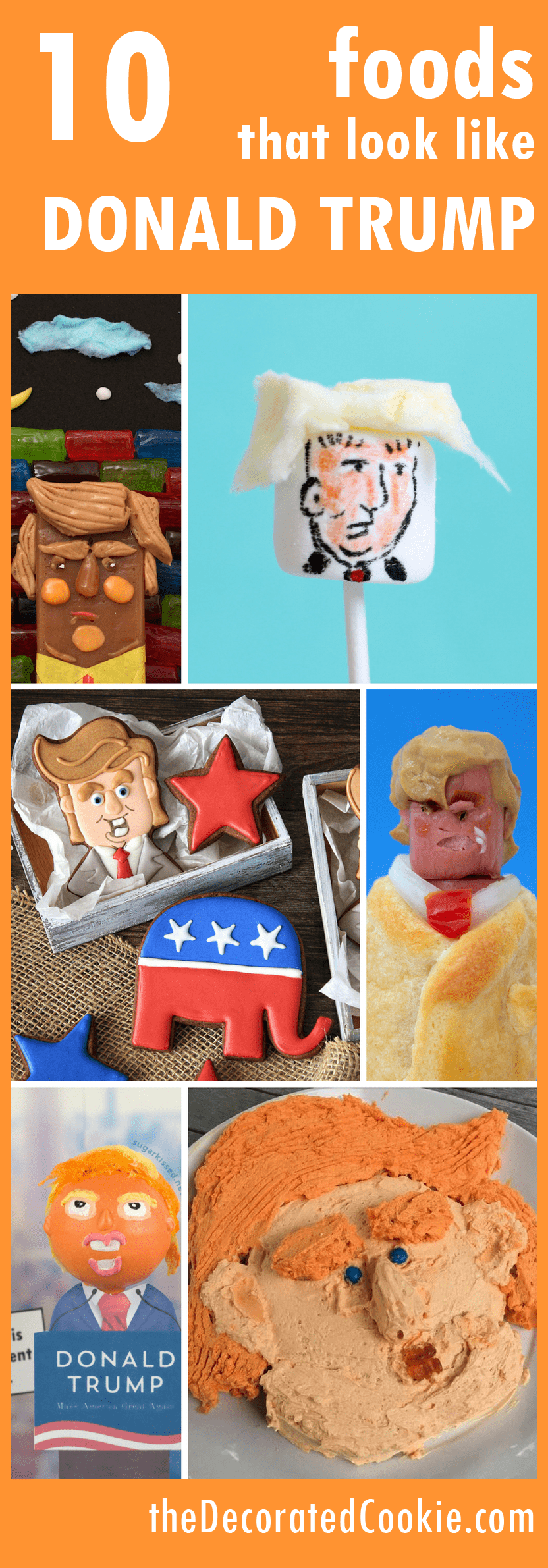 10 foods that look like Donald Trump