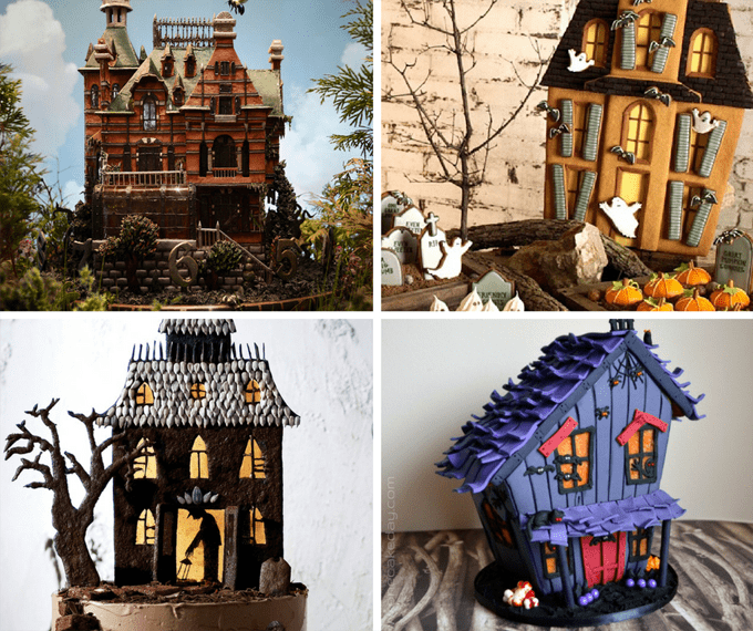 20 awesome Halloween gingerbread houses - haunted gingerbread houses