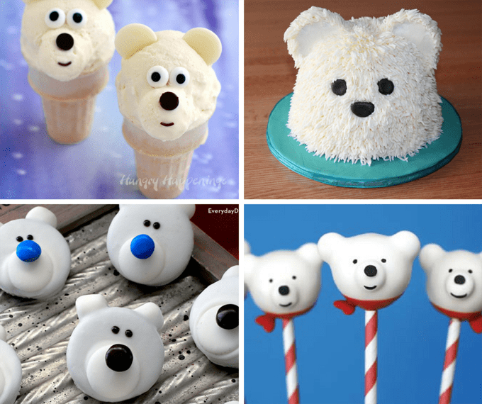 20 Polar Bear treats and crafts