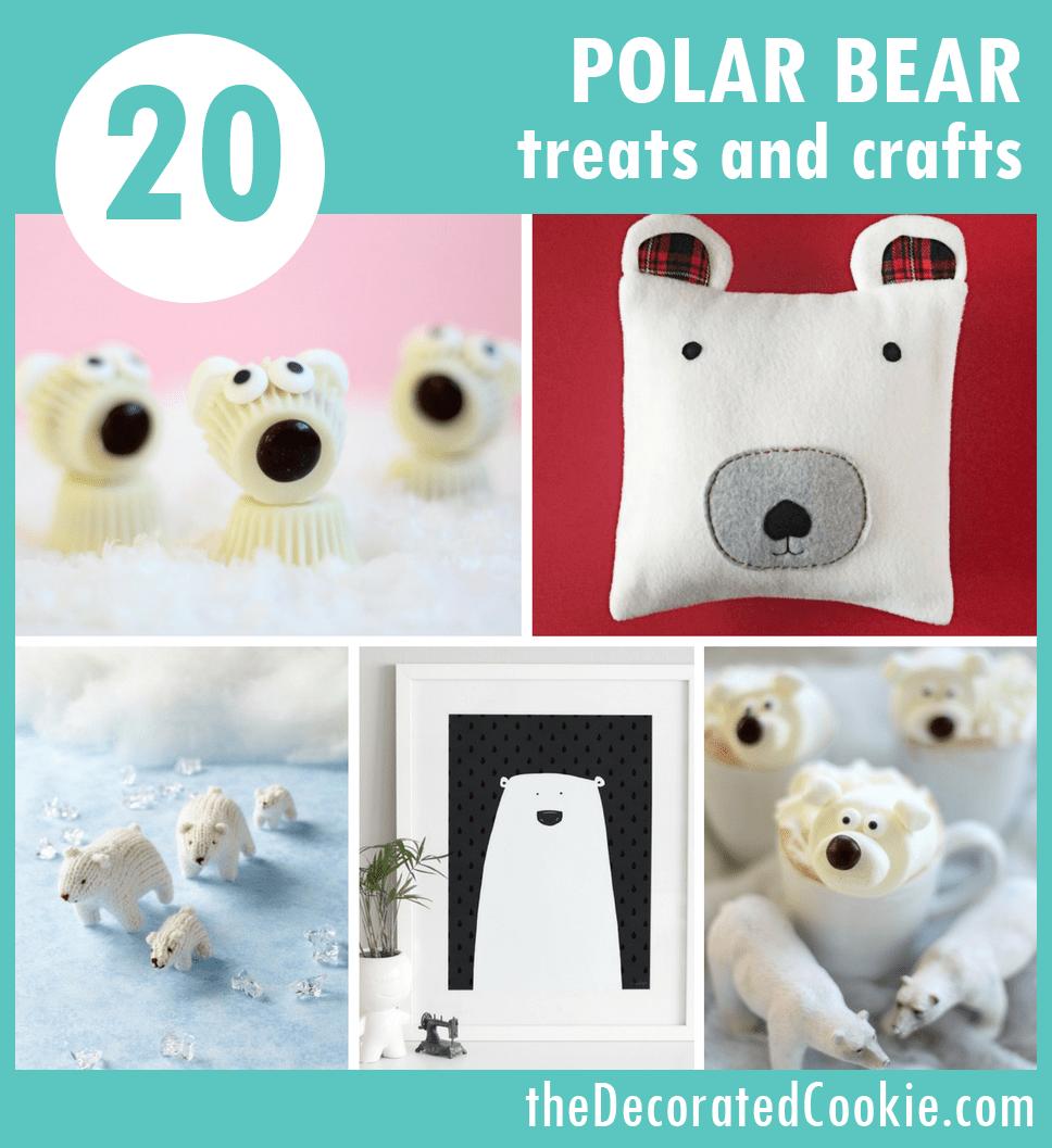 20 Polar Bear treats and crafts