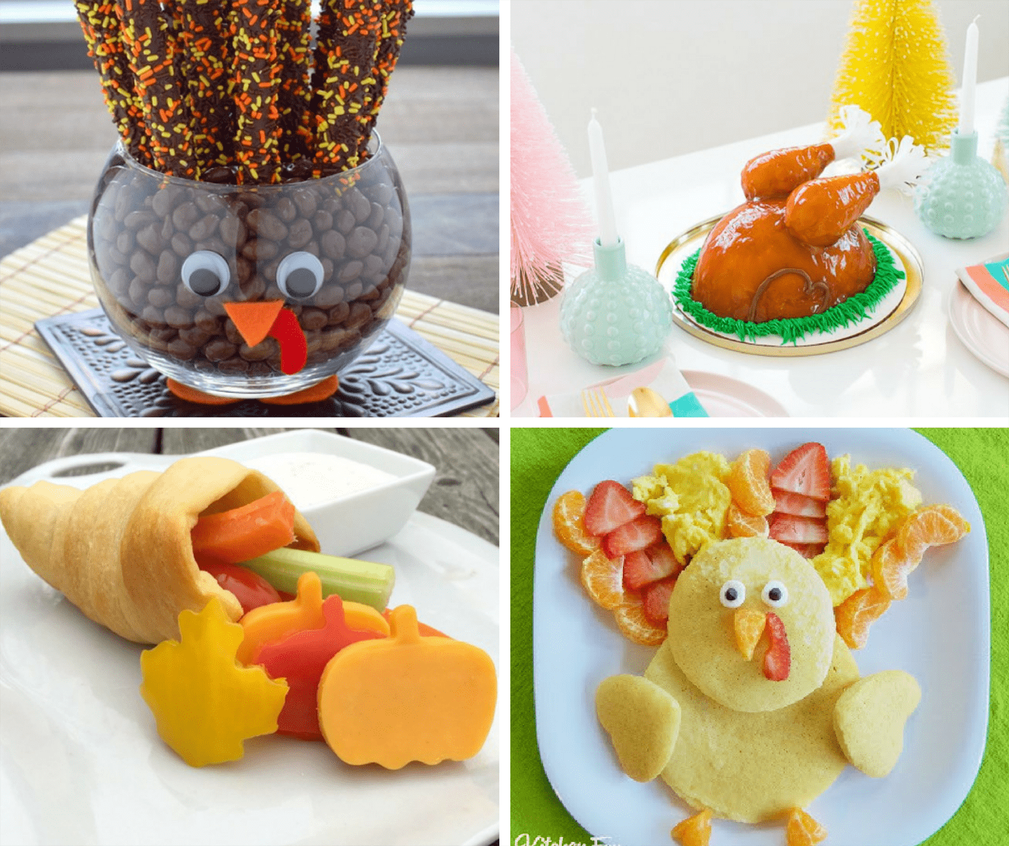 30 fun food ideas for Thanksgiving