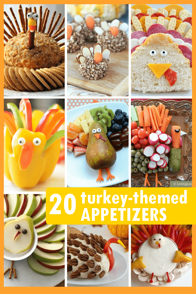 Thanksgiving Appetizers 20 Fun Turkey Themed Snacks