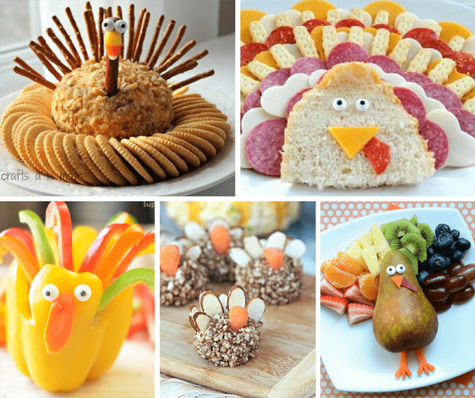 20 Turkey-themed Thanksgiving appetizers roundup