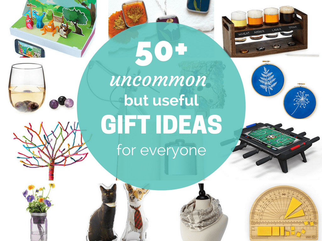 Uncommon Goods ultimate holiday gift guide -- gift ideas for everyone on your list