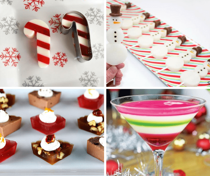 A Roundup Of 16 Jello Shots For Christmas -- Christmas