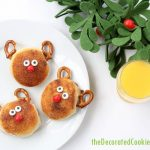 Rudolph biscuits Christmas breakfast