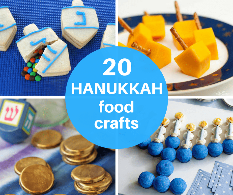 20 Hanukkah food craft ideas