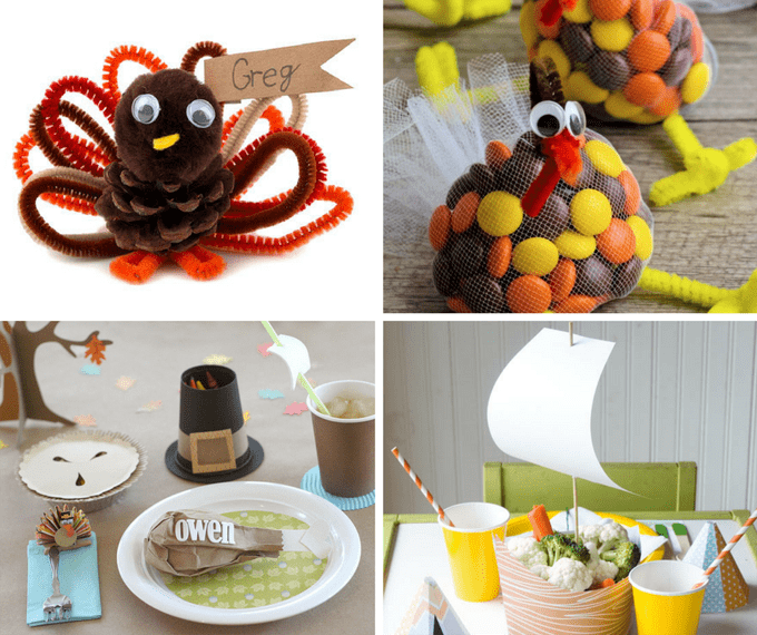 20 Thanksgiving Kids' Table Ideas