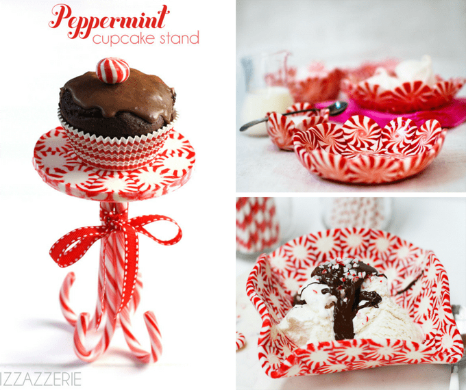 Christmas Candy Craft Ideas.A Roundup Of 21 Peppermint Candy Crafts For Christmas