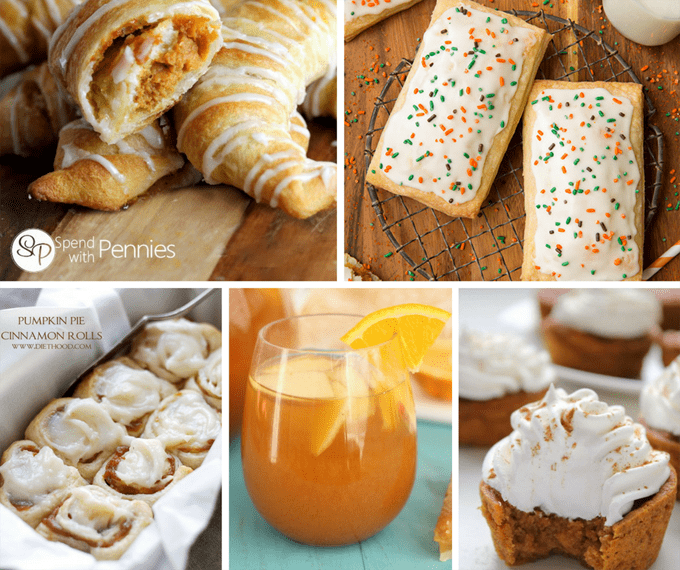 20 pumpkin pie recipes that are not pie -- alternative Thanksgiving desserts