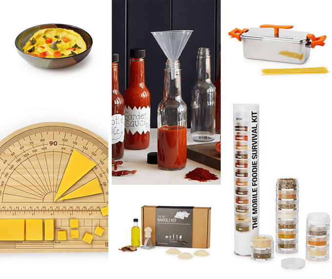 Uncommon Goods ultimate holiday gift guide -- gifts for food fanatics