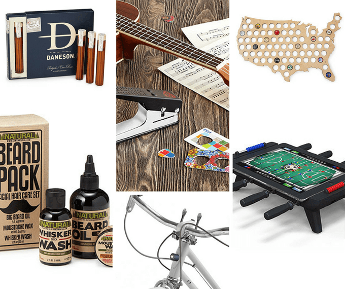 Uncommon Goods ultimate gift guide -- holiday gift ideas for men